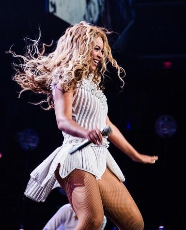 Beyonce white solo