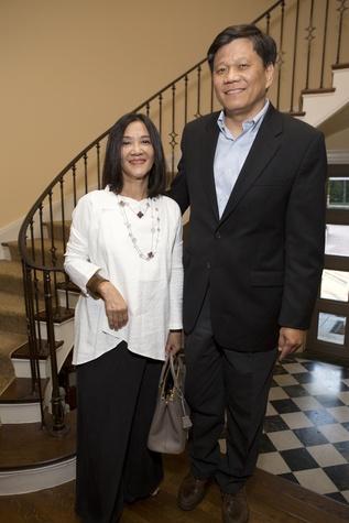 0214 Cindy and Frank Liu at the Tiger Ball kickoff party September 2014