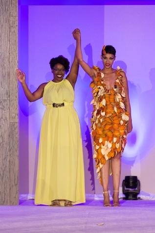 For The Sake of Art, Shirlette Thompson, orange peel dress