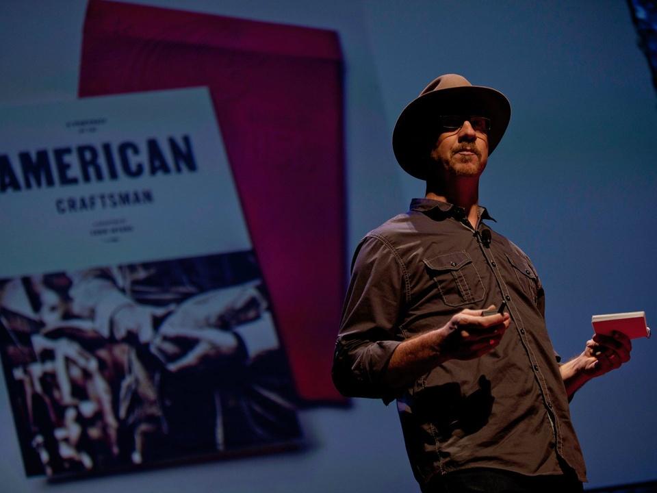 Tadd Myers at TEDxSMU 2014