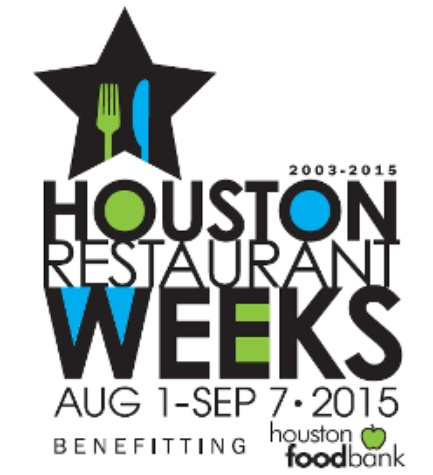 Houston Restaurant Weeks HRW 2015