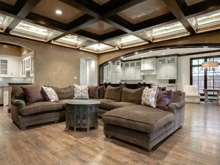 Living room at 4520 Potomac in Dallas