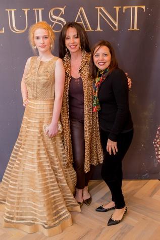 News, Roja Dove event, Dec. 2015,Sarah Hughes, July Sully, Elia Graves