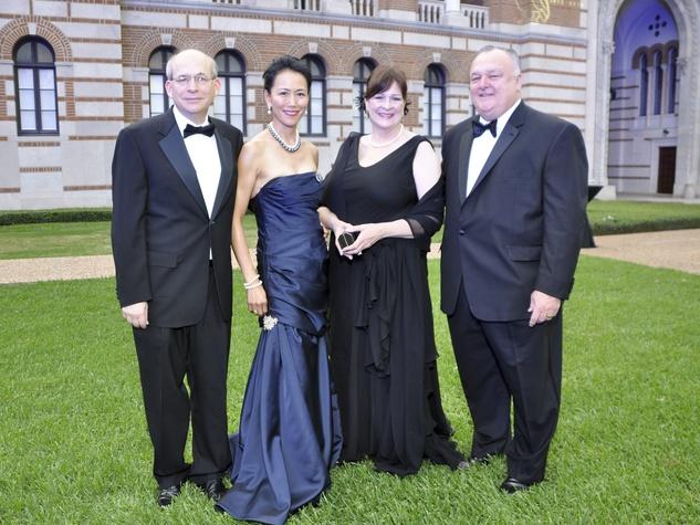 012, Rice University Centennial gala, October 2012, David Leebron, Y. Ping Sun, Cynthia Allshouse, Bucky Allshouse
