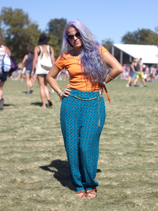 Austin City Limits ACL 2014 Fashion Style Vangie Carranza