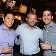 Tim Stephens, from left, Blake Culp and John Beauchamp at Blue Cure Young Professionals February 2014