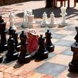 Santana Row chess set San Jose California