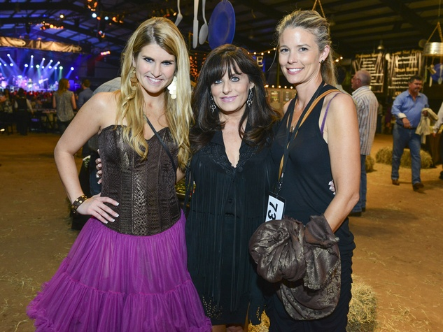 24 Marissa Eubank, from left, Jackie Eubank and Katherine Houston at the Cattle Barons Ball April 2014