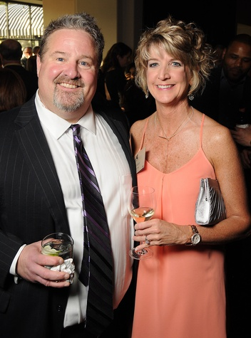 Bill Walter and Sherry Smith at the Johnny Mac Soldiers Fund Inaugural Houston Gala April 2015