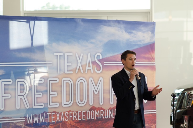 News, Shelby, Texas Freedom Run, Kristian Rose, July 2014