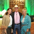 Anna-Laure Stephens, from left, with Walter and Yvonne Johnson at the Boys and Girls Country Gala November 2014