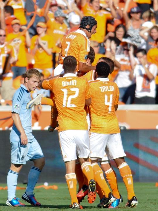 Dynamo goal celebration
