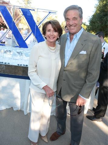 Nancy Pelosi, Paul Pelosi, napa valley todd events party