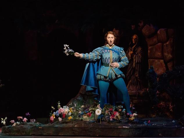 Houston Grand Opera Faust, Meghan Mikailovna Samarin