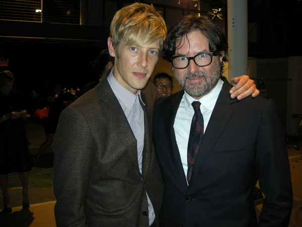 Billy Reid, Gabriel Mann, fashion week, September 2012