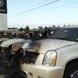 2 Tom Peacock Cadillac crash and fire May 2014