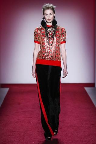 Naeem Khan fall 2017 collection look 31