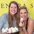 Lindye Keating, left, and Kendra Scott at the Kendra Scott opening in The Woodlands April 2014