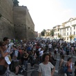 Jane Howze trip to Rome September 2014 Waiting to get into Vatican museum
