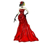 Binzario Couture evening gown