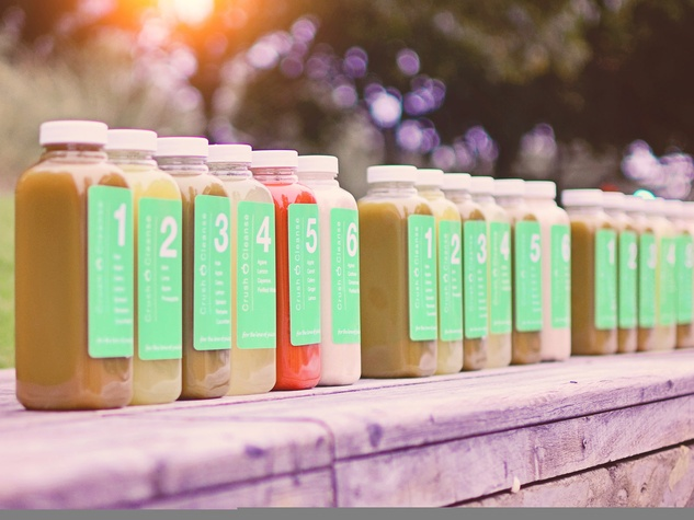 Crush cleanse, juice, January 2013