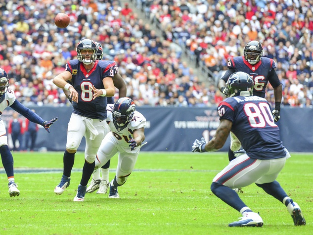 Matt Schaub Andre Johnson Texans