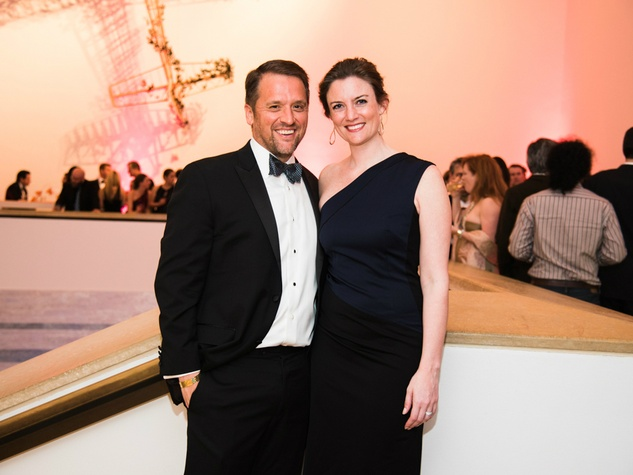 Blanton Museum Art on the Edge Hector Perez Kate Perez host committee chair