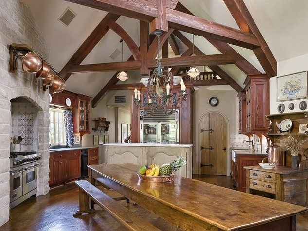 Kitchen at 4906 Park Ln. in Dallas
