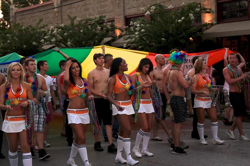 Gay Pride Parade, Dynamo Dancers, June 2012