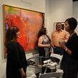 News, Shelby, Texas Contemporary opening, Sept. 2014,  Mary Melbert, Glenda Johnston, Ken Davis, Megan Barnhart