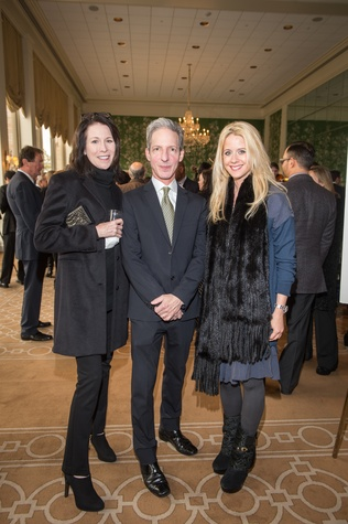 5 Delise Ward, from left, Craig Lidji and Jill Reno at the HSPVA 9th Annual Encore for Excellence luncheon February 2015