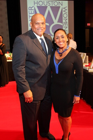 Greater Houston Women's Chamber of Commerce Gala, December 2012, Lou Gregory, Linda Lorelle