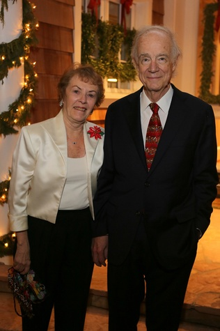 News, Shelby, Alley Theatre Holiday Party, December 2014, Dee Coates, Al Coates