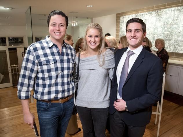 Dallas, LR Art House opening, January 2018, Ryan Hoopes, Emily Hoopes, Anthony Chammah
