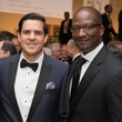 John Morton, left, and Derrick Mitchell at Museum of Fine Arts Houston MFAH One Great Night November 2014