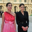 Charlotte Casiraghi and friend at Louvre party June 2013