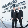 Bob Williams and Mitchell Gold at the Mitchell Gold + Bob Williams Houston grand opening celebration