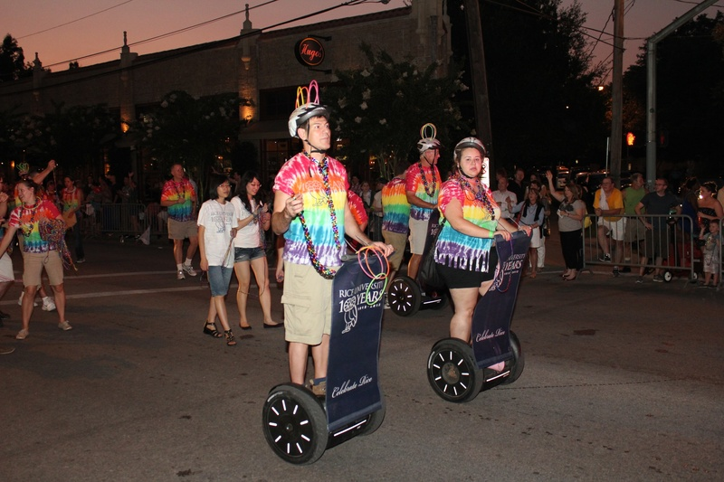 Gay Pride Parade, Rice University, June 2012
