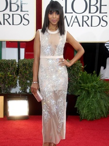 70th Annual Golden Globe Awards, Kerry Washington, Miu Miu, January 2013