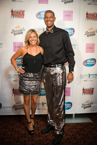 Clutch City Battioke 2015 Heidi and Shane Battier