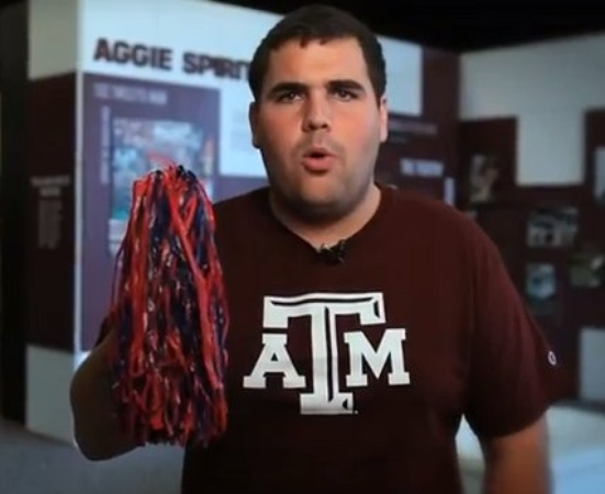 Austin photo: News_A&M Video_Pom Pom
