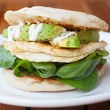 Egg white and spinach sandwich at East Hampton in Dallas