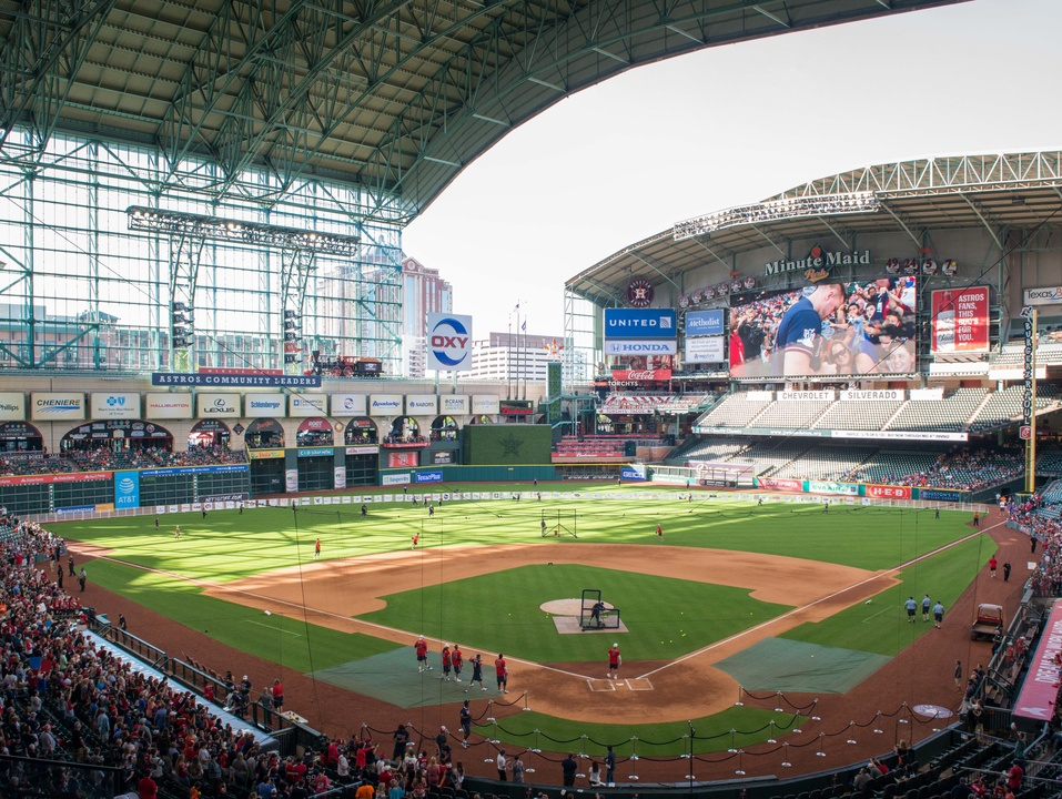 Houston, J.J. Watt Charity Classic, May 2017, Minute Maid Stadium