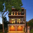 front elevation night On the Market 215 E. 4th St. May 2014