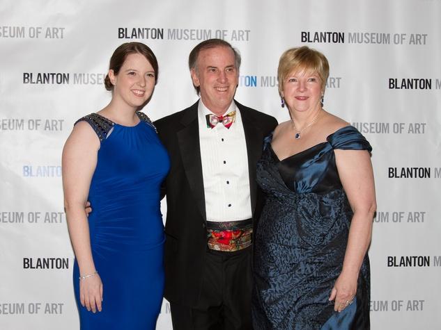 Blanton Art Museum Off The Wall Gala 2015 Jack Blanton Leslie Blanton