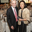 Dr. James Cox and Dr. Ritsuko Komaki at the Women's Chamber of Commerce Hall of Fame Gala December 2014
