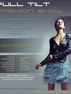 Austin Photo_Events_Full Tilt Fashion Show_Poster