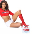 most beautiful NFL cheerleaders, Houston Texans cheerleaders, Danielle, December 2012