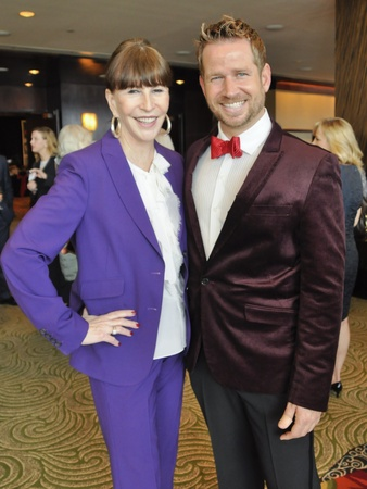 017, World AIDS Day luncheon, December 2012, Shelby Hodge, Jeff Shell