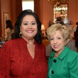 23 Michelle Fraga, left, and Lolita Guerrero at the Latin Women's Initiative Luncheon October 2014